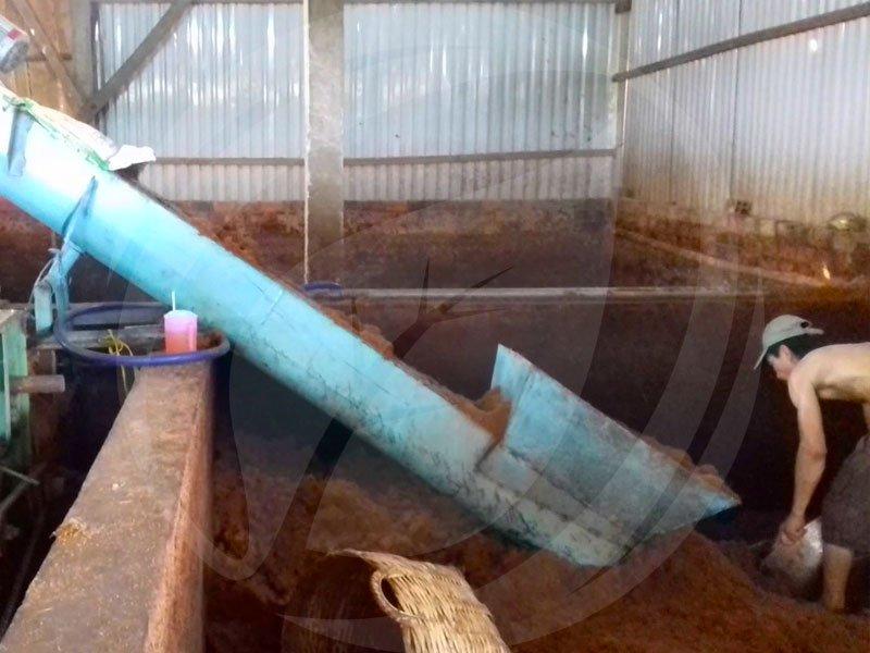 Cách ủ xơ dừa làm giá thể