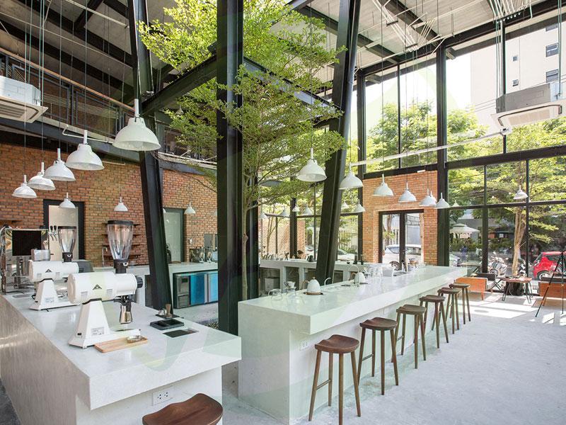 Dịch vụ thiết kế cảnh quan cafe sân vườn uy tín TP Hồ Chí Minh